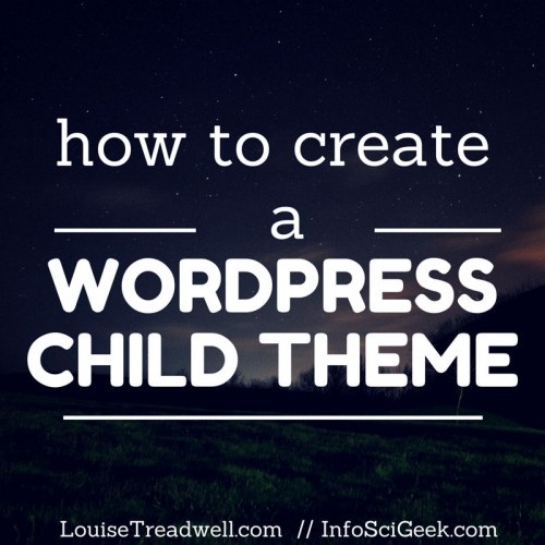 Learning how to make a child theme is one of the most vital items in your WordPress toolkit.